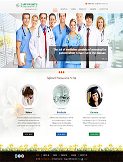 Pharmacy Web Design Company In Kolkata